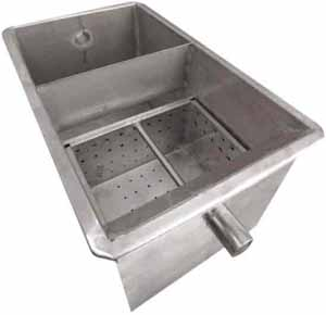 Stainless Steel Grease Traps Interceptors Stainless