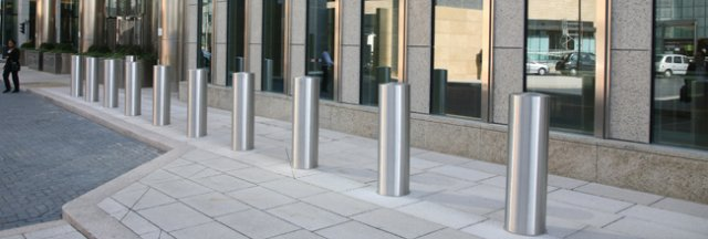 Stainless steel security bollards stainless steel fabricators fabrication perth western - Decorative and safety bollards for your home ...